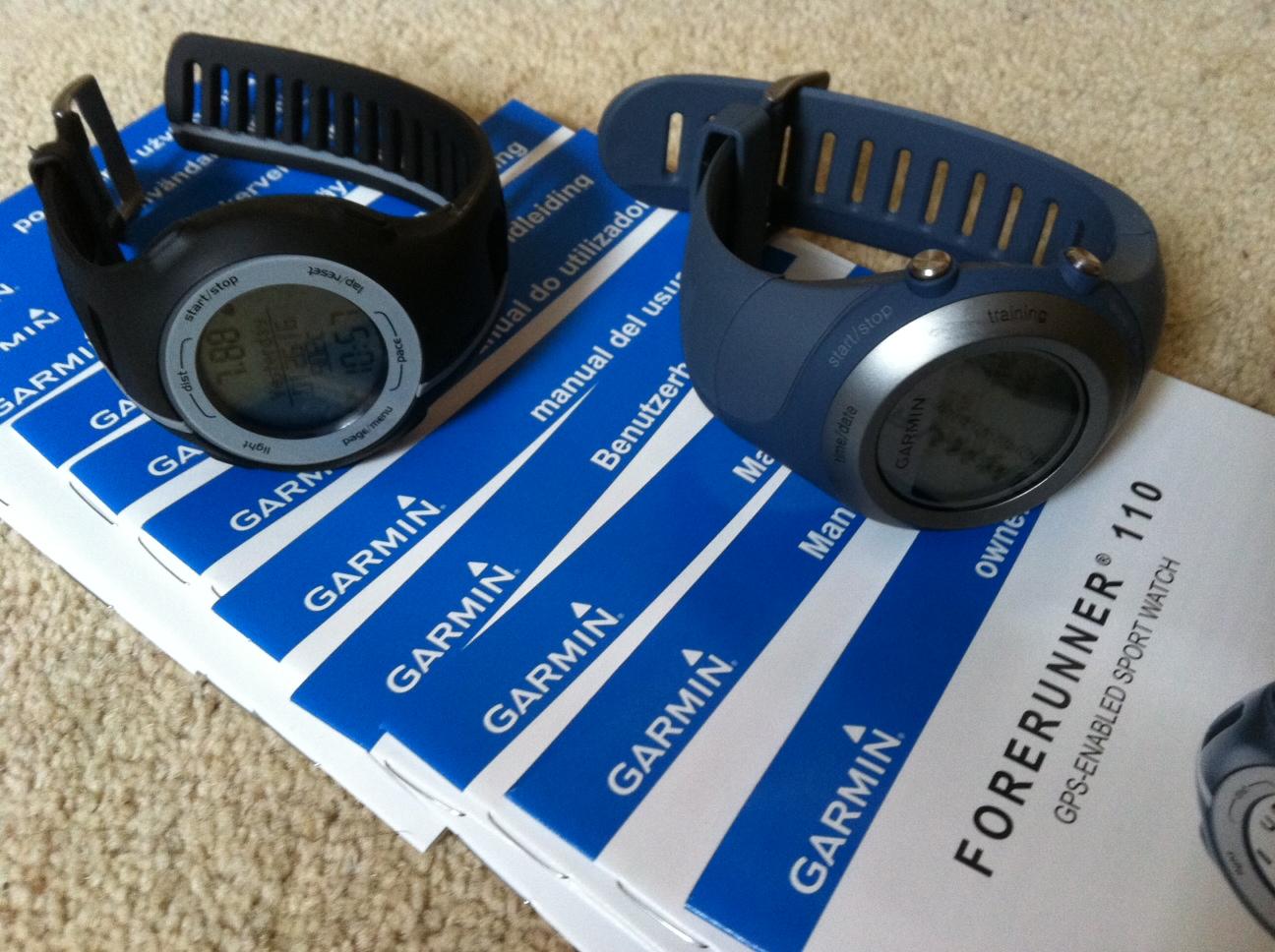 garmin swim watch instructions