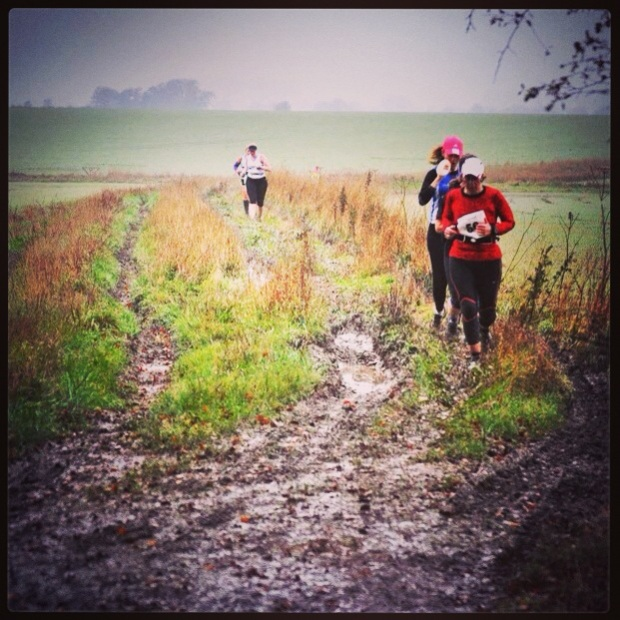 In action at Avebury 8 race