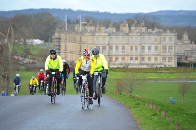 Leading out from Longleat House