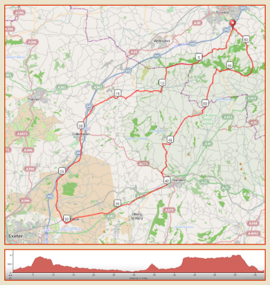 Dakota - 100km route