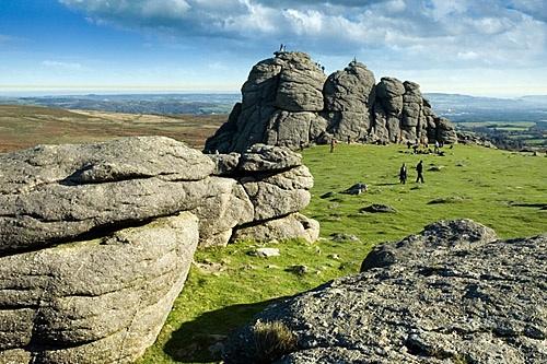 Classic Dartmoor scenery