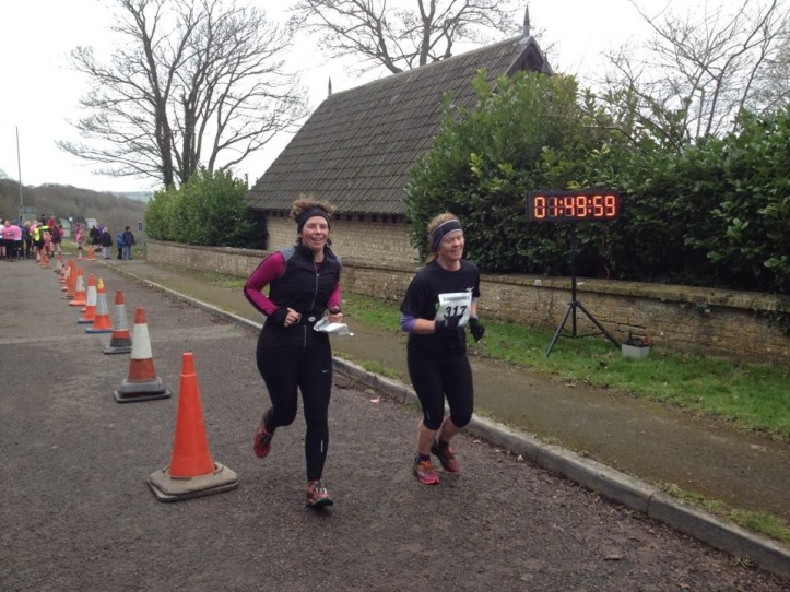 Frozen finishers at Slaughterford