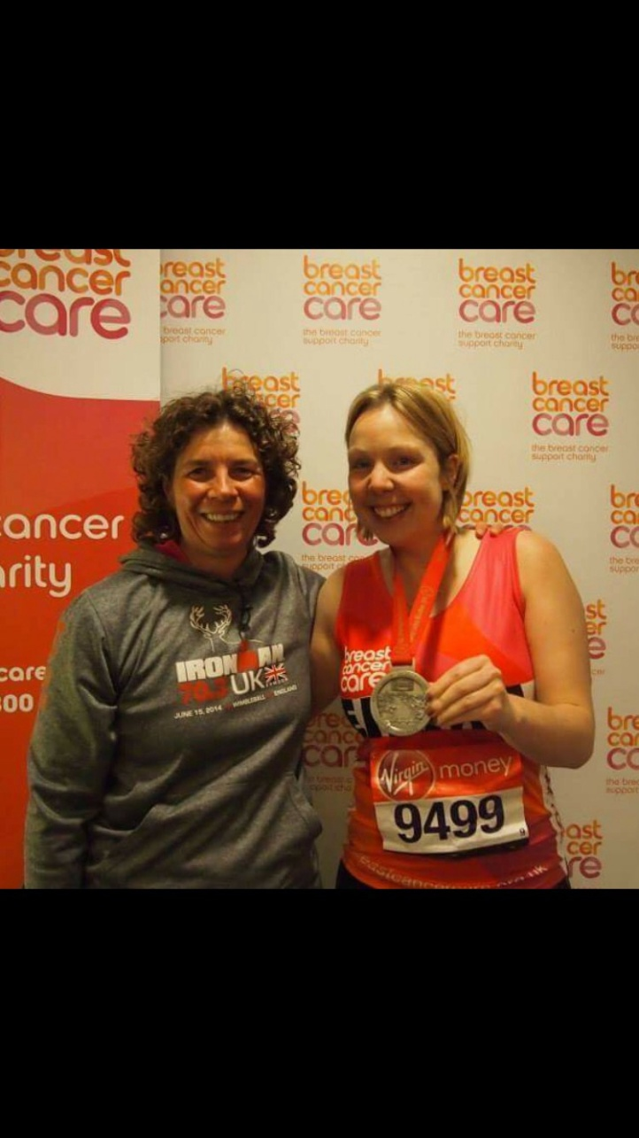 Proud step mum from inspiring Emma to start running
